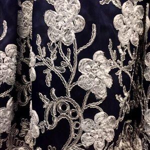 Chi Chi London Dresses - Chi Chi London Midi Dress in Midnight Plus Size 18